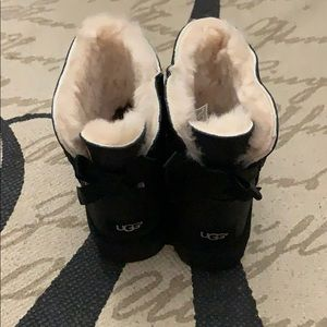 Ugg mini bailey II black sparkle boots